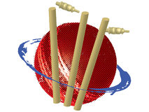 Cricket symbol royalty free illustration