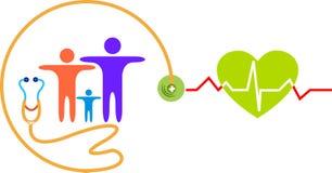 Hospital logo Royalty Free Stock Photo