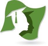 Graduation logo Stock Image