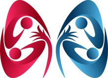 Kidney care logo Stock Photos