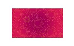 Illustration art of celebration abstract background Royalty Free Stock Images