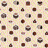 Illustration of assortment of Chocolate Candy Stock Image