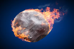 Objects on fire Royalty Free Stock Photography