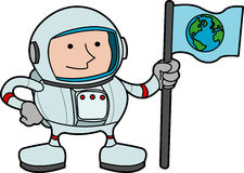 Illustration of astronaut Royalty Free Stock Photography