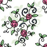 Illustration auf Lager extrahieren Blumen lizenzfreie abbildung