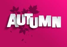 Illustration autumn background leaves vector illustration