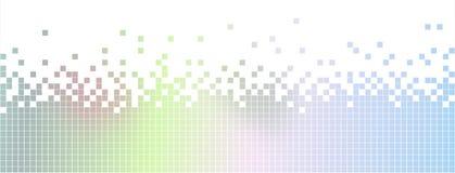 Illustration av abstrakt bakgrund för kulöra lutningPIXEL Royaltyfri Bild