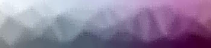 Illustration av abstrakt purpurfärgad och Gray Through The Tiny Glass banerbakgrund stock illustrationer