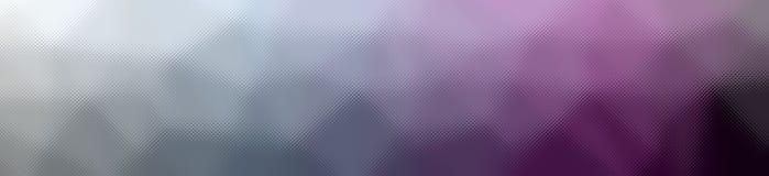 Illustration av abstrakt purpurfärgad och Gray Through The Tiny Glass banerbakgrund vektor illustrationer