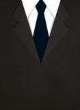 Illustration av affärsdräkten med ett band stock illustrationer
