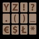 Illustration av alfabetiska tecken Y-symblos Arkivbilder