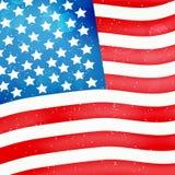 Illustration av bakgrund för USA konstitutiondag stock illustrationer