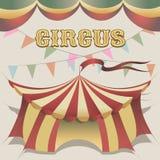 Illustration av cirkustältet Royaltyfri Foto