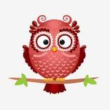 Owlbrunt royaltyfri illustrationer