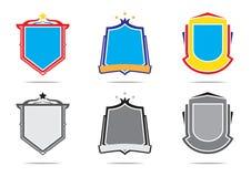 Illustration av den utomhus- symbolen för affärsföretagsportdesign Fotografering för Bildbyråer