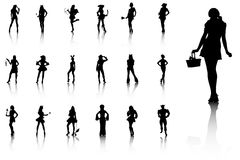 Illustration av dräkter för specialt tillfälle Royaltyfri Fotografi