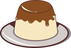 Pudding Arkivbild