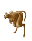 Illustration av en mytisk varelse royaltyfri illustrationer