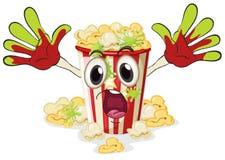 En popcorn vektor illustrationer