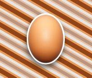 Äggbakgrund Royaltyfri Foto