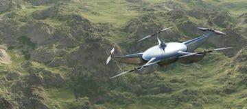 illustration av ett flygsurr Royaltyfri Fotografi