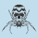 Illustration av ett monster Fotografering för Bildbyråer