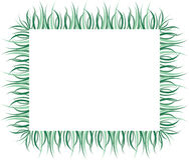 Illustration av gräsgränsdesignen Arkivbild