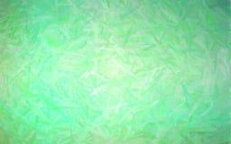 Illustration av grön pastell med lång borsteslaglängdbakgrund stock illustrationer