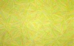 Illustration av gul pastell med lång borsteslaglängdbakgrund vektor illustrationer