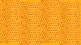 Illustration av honungskakan förbi OBS stock illustrationer