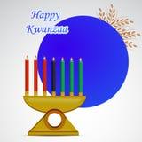 Illustration av Kwanzaa bakgrund Royaltyfria Foton