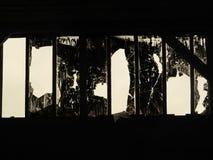 Illustration av levande dödframsidan arkivfoto