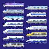 Illustration av Shinkansenen, Royaltyfria Bilder