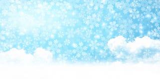 Illustration av vintersäsongen royaltyfri bild