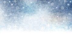 Illustration av vintersäsongen royaltyfria bilder