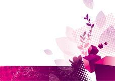 Illustration avec les cubes 3d Images stock