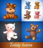 Illustration of baby frendly  Teddy bear Royalty Free Stock Photography