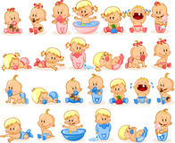 Illustration of baby,vector Royalty Free Stock Photos