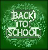 Back to school background royalty free illustration