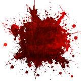 Illustration, background. A grungy background shows blood spots...danger..dreadfull Stock Photos