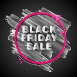 Black Friday Sale shopping Offer and Promotion Background on eve of Merry Christmas Stock Photo