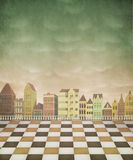 Illustration, background, card or poster. Royalty Free Stock Photography