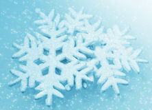Illustration background with christmas snowflakes royalty free stock photography