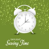 Daylight Saving Time. Illustration of a Background for Daylight Saving TimeSpring Forward Royalty Free Stock Photo