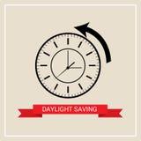 Daylight Saving Time. Illustration of a Background for Daylight Saving TimeSpring Forward Royalty Free Stock Image