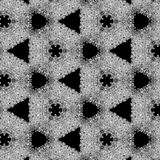 Illustration of a background of diamonds on a black background. Close-up Stock Photography