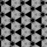 Illustration of a background of diamonds on a black background. Close-up Stock Photos