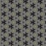 Illustration of a background of diamonds on a black background. Close-up Royalty Free Stock Images