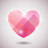 Illustration background heart Royalty Free Stock Images