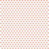 VECTOR ILLUSTRATION OF A BACKGROUND OF HEARTS. ILLUSTRATION OF A BACKGROUND OF HEARTS Royalty Free Stock Photo